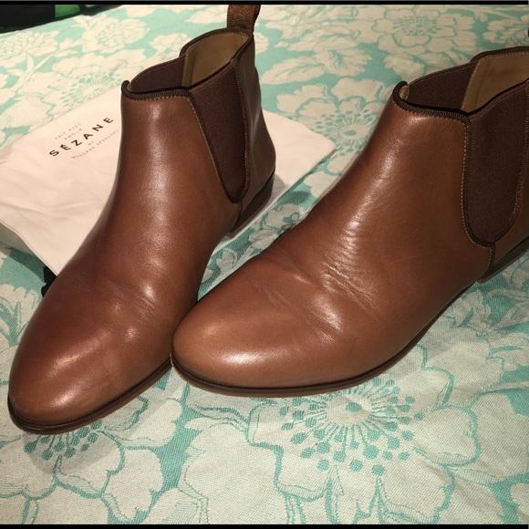 e15e0b7df8f8 Sezane Shoes | Camel Booties 38 | Poshmark